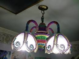 mardi gras bead chandelier mardi gras bead l house tropical