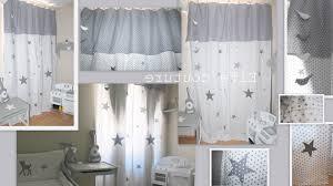 rideau pour chambre bébé decoration etoile chambre bebe lovelyreserve rideau occultant étoilé