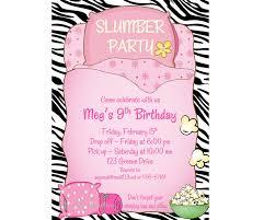 sleepover invitation sleepover birthday invitation sleep over