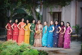 top pic colorful bridesmaids dresses bridal banter blog