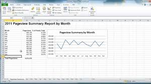 monthly sales report template excel excel vba create summary report example youtube