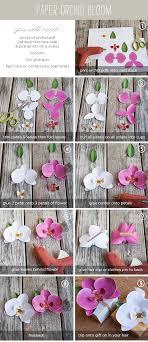 origami orchid tutorial teen diy paper orchid bloom