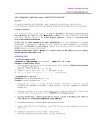 linux system administration sample resume 8 administrator cover