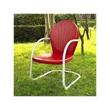 Griffith Metal Outdoor Furniture by Outdoor Griffith Metal Chair Green Metals And Products
