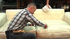 How To Dry Clean A Sofa How To Clean Condition And Protect Your Leather Lounge Suite