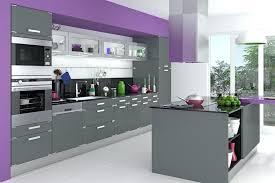 meuble cuisine et gris meuble cuisine amenagee modele de cuisine gris en l avec plan de