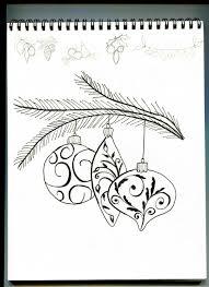 christmas ornament sketch hand drawn christmas ornaments royalty