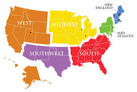 map us states regions united states map with region us states map regions lg thempfa org