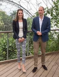 prince william and kate middleton visit the eden project daily