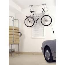 Bicycle Ceiling Hoist by Storage