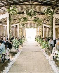 diy wedding ceremony decor wedding decoration ideas gallery