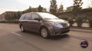 test drive 2015 toyota sienna xle review car pro