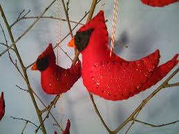 18 best cardinal ornaments images on cardinals