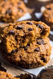 pumpkin pie chocolate chip oatmeal cookies recipe video amy u0027s