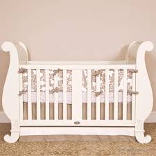 Sleigh Bed Crib Bratt Decor Baby Cribs And Furniture Assembly Instructions