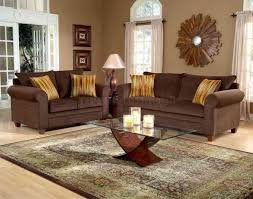 brown livingroom living room wall color ideas with brown furniture