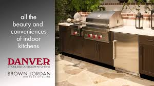 stainless outdoor kitchen cabinets danver stainless outdoor kitchens brown jordan outdoor kitchens