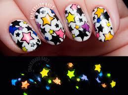 star bright reverse stamped glow in the dark stars chalkboard