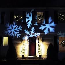 outdoor led snowflake light projector with remote