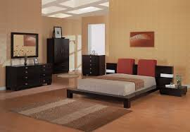awesome contemporary mid century wooden bedroom furniture set