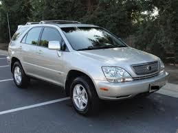 2001 lexus rx 300 partsopen