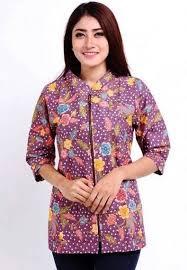model baju atasan untuk orang gemuk 2015 model baju dan ッ 40 model baju batik wanita atasan lengan panjang terbaru modern