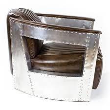 ledersessel design echtleder vintage alu sessel retro ledersessel design lounge