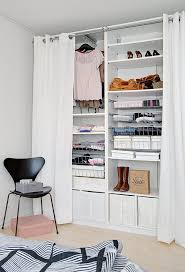 curtains closet curtain ideas decor 5 ways to decorate your closet