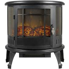 portable electric fireplace stove 1500w space heater realistic