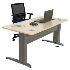 bureau en ligne bureau individuel droit ligne plus armoire plus