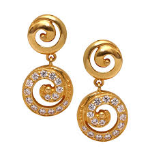 gold earrings earrings grt jewellers at singapore from 3rd july