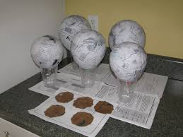 Paper Mache Christmas Crafts - adventures in craftiness crafting a cowboy party paper mache