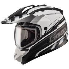 motocross helmet and goggles gmax gm11s snow sport trekka helmet jafrum