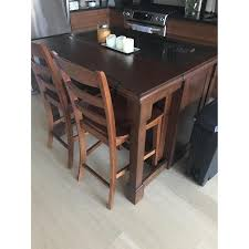 home styles aspen kitchen island w granite top aptdeco