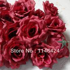 Burgundy Flowers Compare Prices On Silk Burgundy Flowers Online Shopping Buy Low