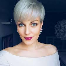 16 gray short hairstyles and haircuts for women 2017
