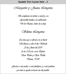 quinceanera invitations wording in spanish quinceanera invitations