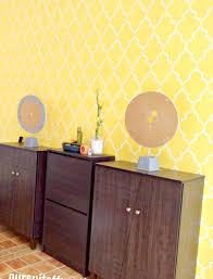 update sophia trellis wall stencil pattern u2013 pursuit of