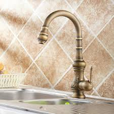 new arrival rotate antique bronze kitchen sink faucets