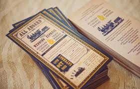 ticket wedding invitations ticket wedding invitations vintage ticket wedding invitation