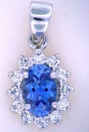 benitoite engagement ring benitoite jewelry www steveperrygems gemstones