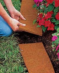 Fiber Soil by Coco Fiber Edging Coconut Fiber Edging Gardeners Com