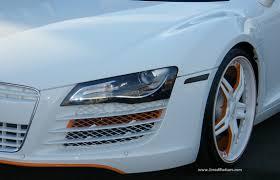 audi modified modified audi r8 v10 with custom matte white 21