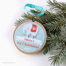 personalized christmas ornaments baby coolest gifts for baby s christmas gift guide 2015