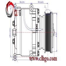 lexus es 350 ac compressor electric ac compressors for cars electric ac compressors for cars
