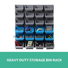 Storage Bin Shelves by 40pc Wall Mounted Storage Bin Rack Tool Parts Garage Unit Shelving