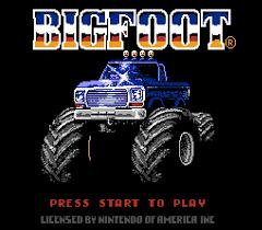 bigfoot monster truck game bigfoot