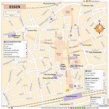 Essen Germany Map by Rg B Format