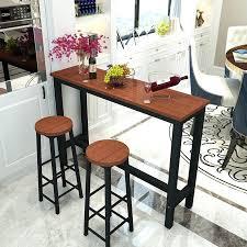Narrow Kitchen Bar Table Narrow Bar Table Modern Minimalist Small Bar Wall Bar Tables