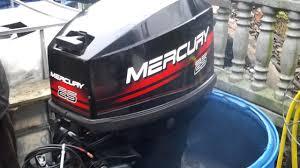 1998 mercury 25 hp outboard motor 2 stroke 2 suw youtube